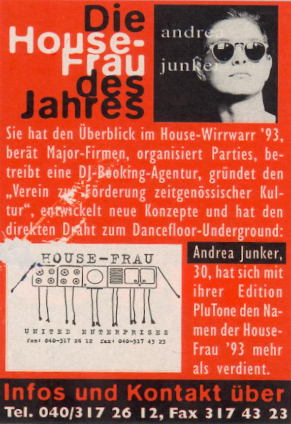 MAX - housefrau, Andrea M. Junker