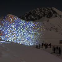 Pani Projektion / Rüfikopfgipfel by ANJA HUWE
