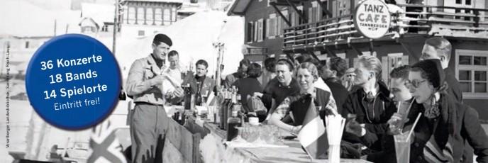 Tanzcafé  Arlberg - das Musikfestival zum Sonnenskilauf